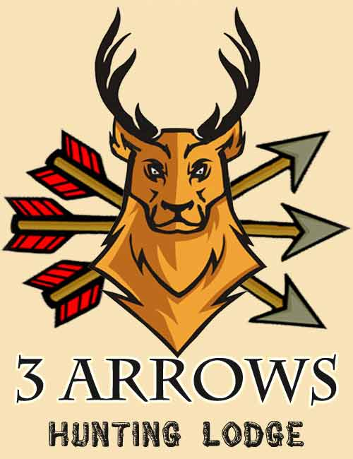 3 Arrows Deer Logo