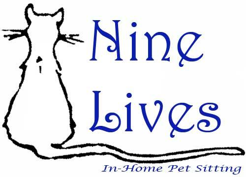 Nine Lives Cat Logo