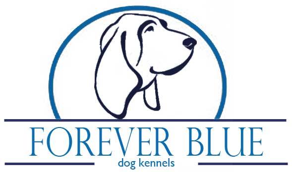 Forever Blue Dog Logo