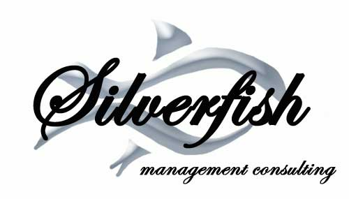 Silverfish Fish Logo