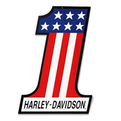 Harley Davidson #1 Logo