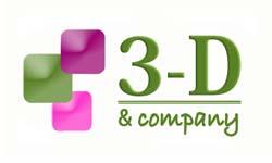 3-D & Company Logo Design
