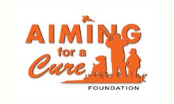Aiming For A Cure Foundation Logo Iowa City