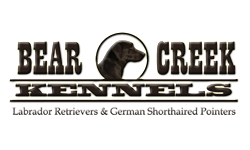 Bear Creek Kennels Logo Design Iowa