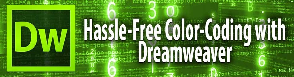 Website Design with Dreamweaver and Color-Coding TPL Files as PHP