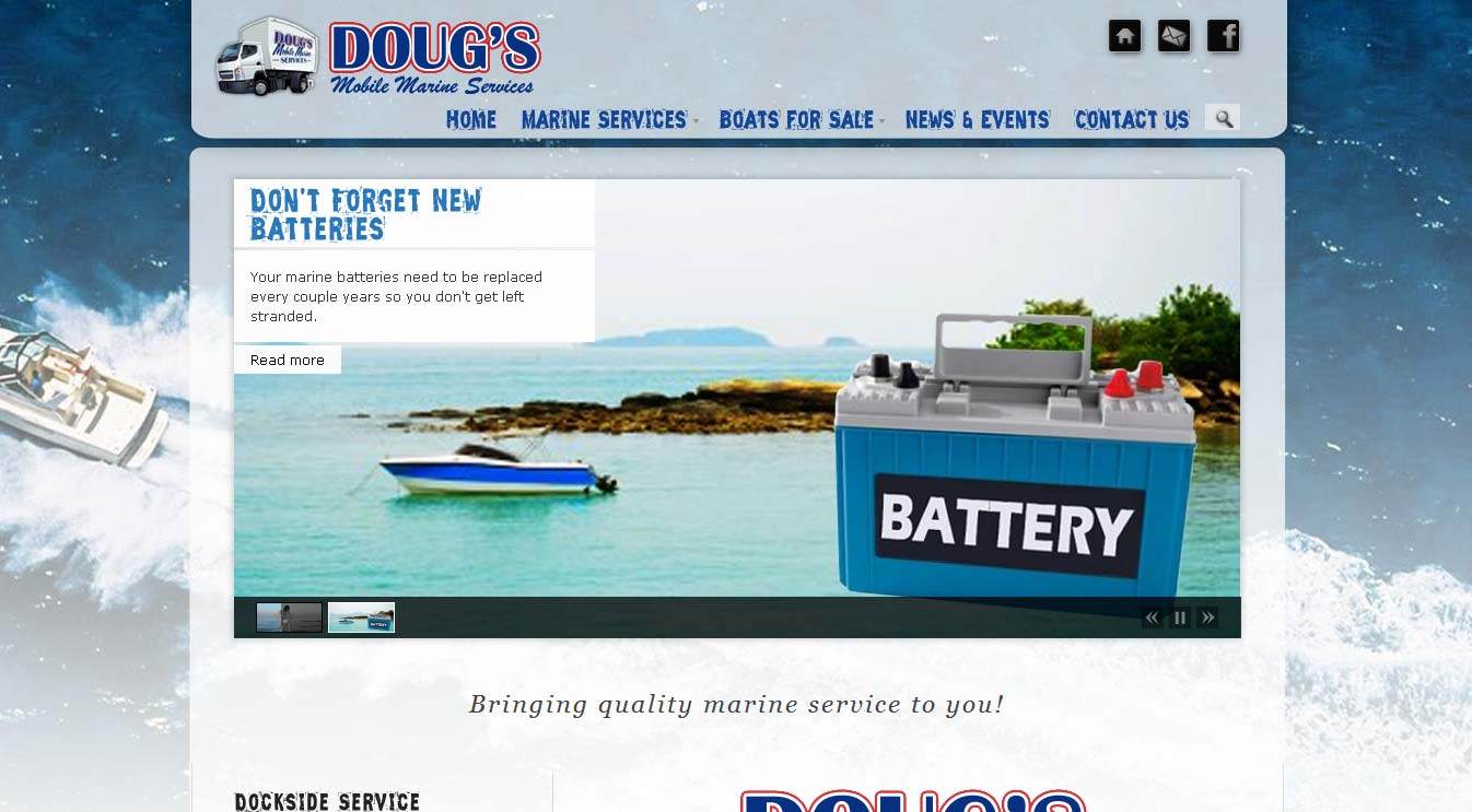 Quad City Web Design Dougs Mobile