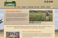 Quad City Web Design Highland Hunting
